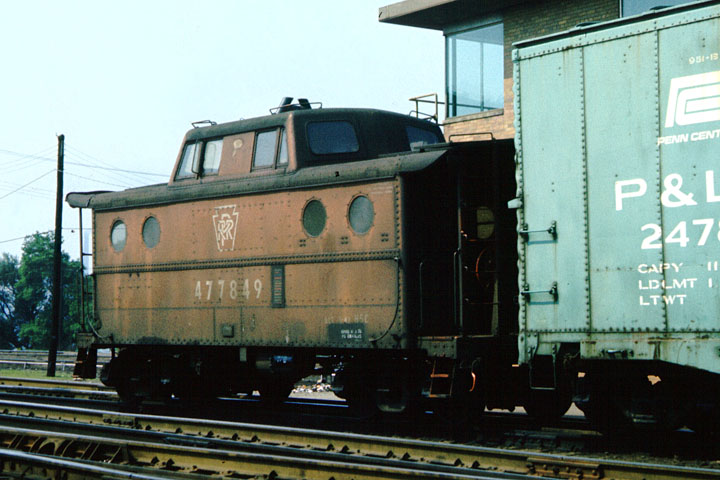 Lube N Go >> Penn Central Caboose Photo Archive The ex PRR N-5C Class